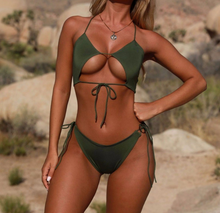 Hot Miami Shades High Cut Two Pieces Bikini set