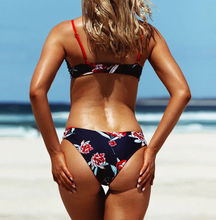 Hot Miami Shades Floral Print High Cut Swimwear