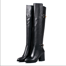 Hot Miami Shades High Tube - High Heeled Leather Boots