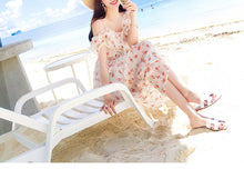 Hot Miami Shades Fresh Floral Chiffon Dress