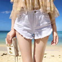 Hot Miami Shades White Hot Fringe Short - Cotton