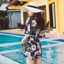 HOT MIAMI SHADES Bikini Blouse Three-Piece Swimsuit