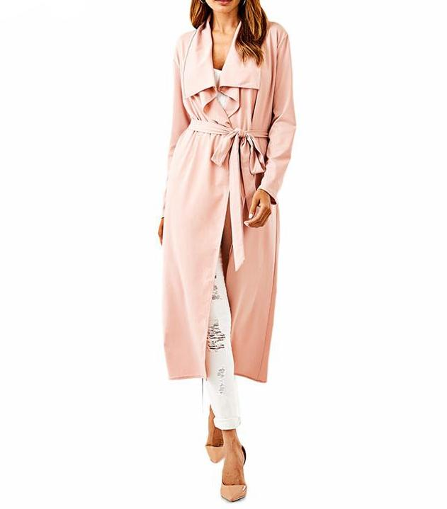 Rose Gold Trench Coat
