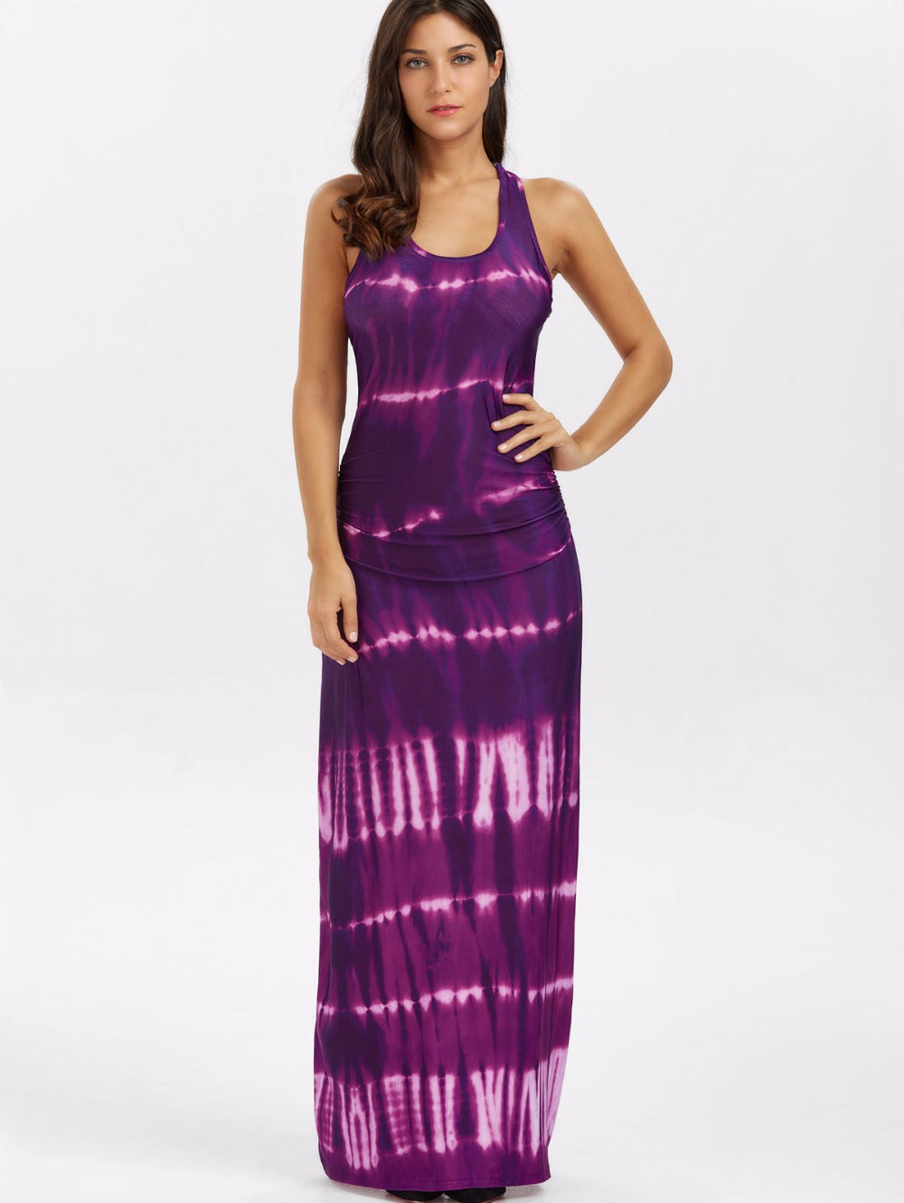 Tie Dye Hot Miami Shades Day Dress 60034d9724