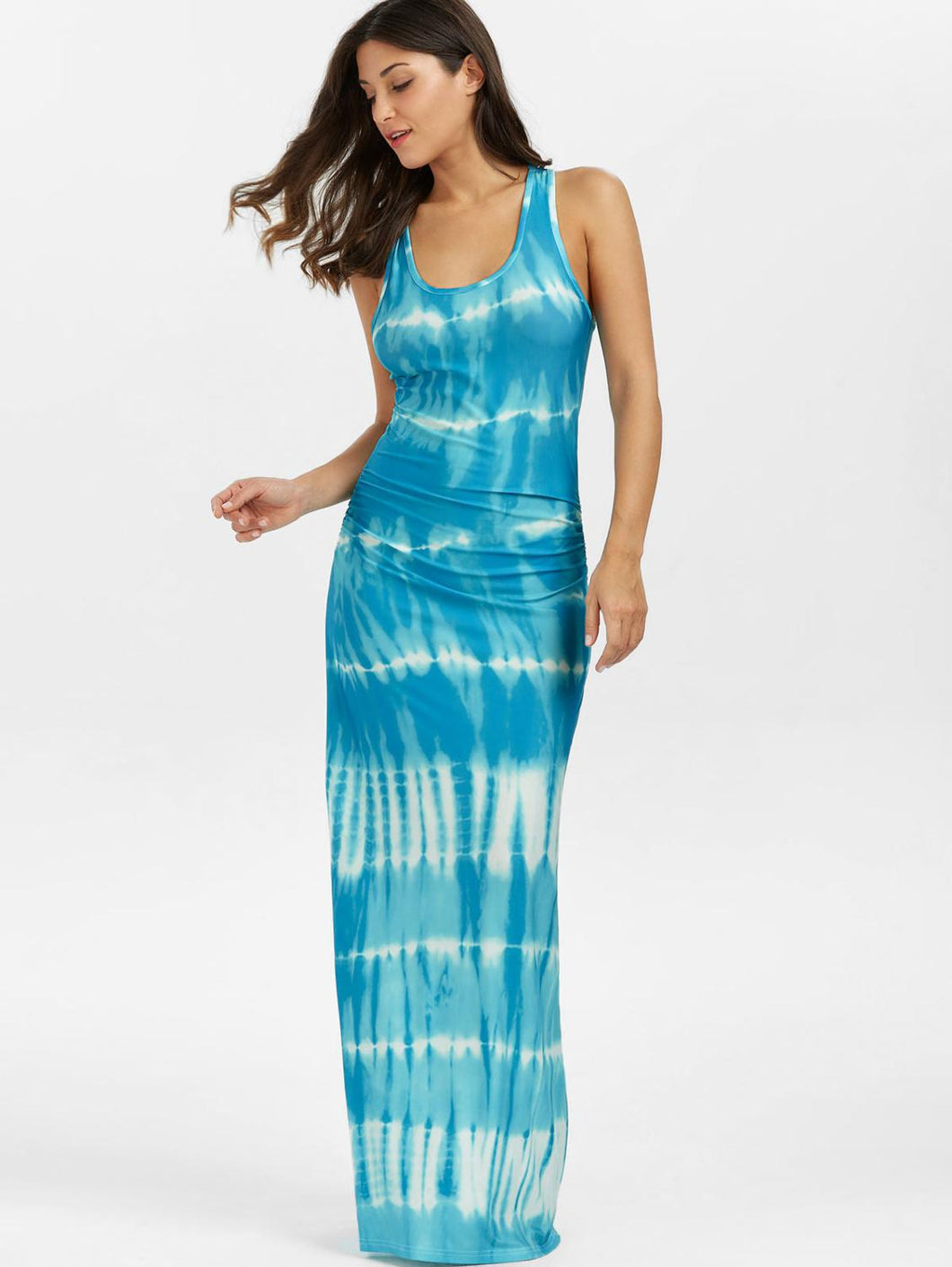 Tie Dye Hot Miami Shades Day Dress