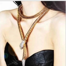 Hot Miami Shades Snake Shaped Necklace