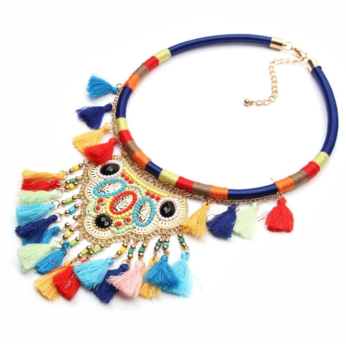 Hot Miami Shades Multi Color Women's Necklace