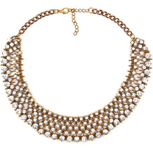 Hot Miami Shades Crystal & Shiny Necklace