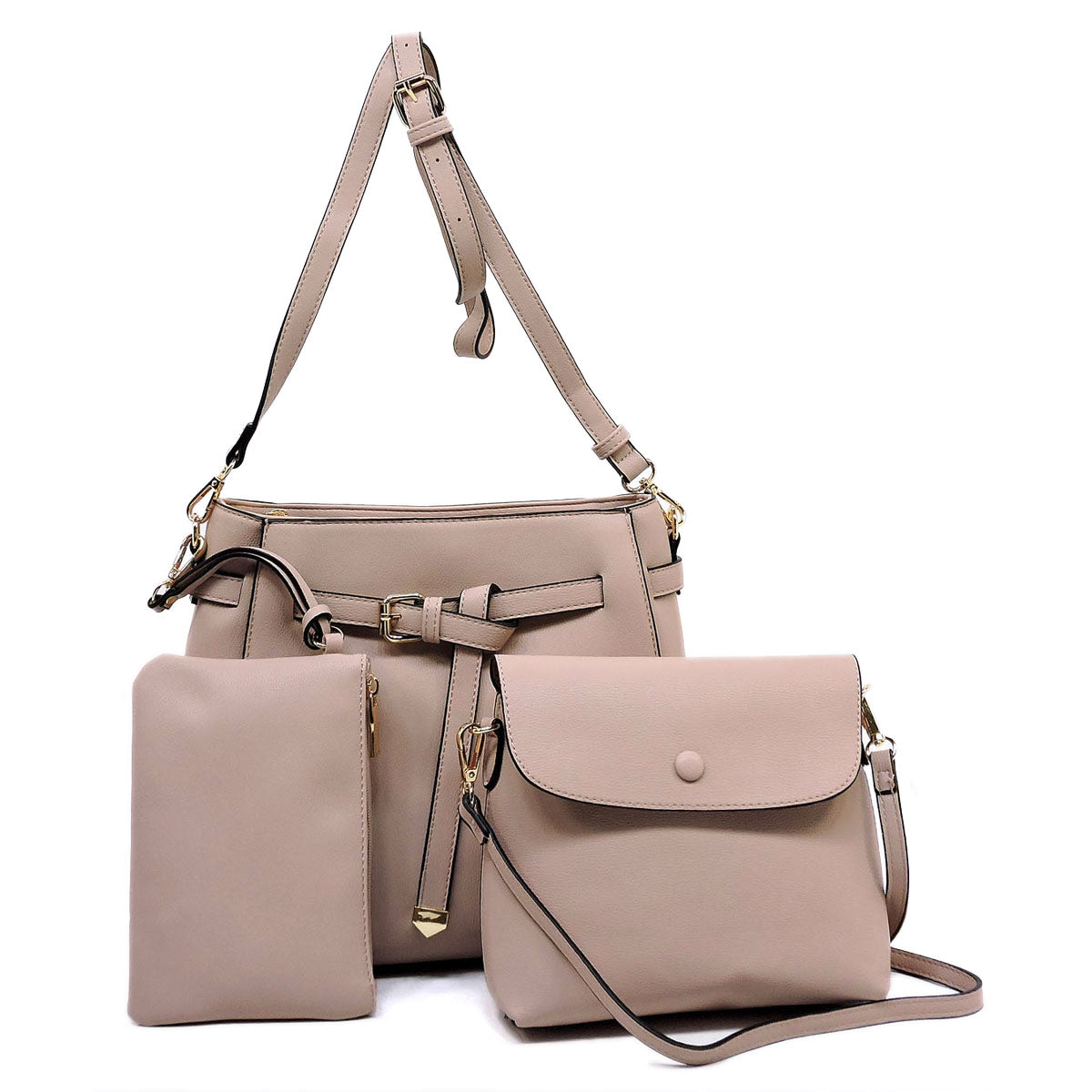 Belted 3-in-1 Satchel