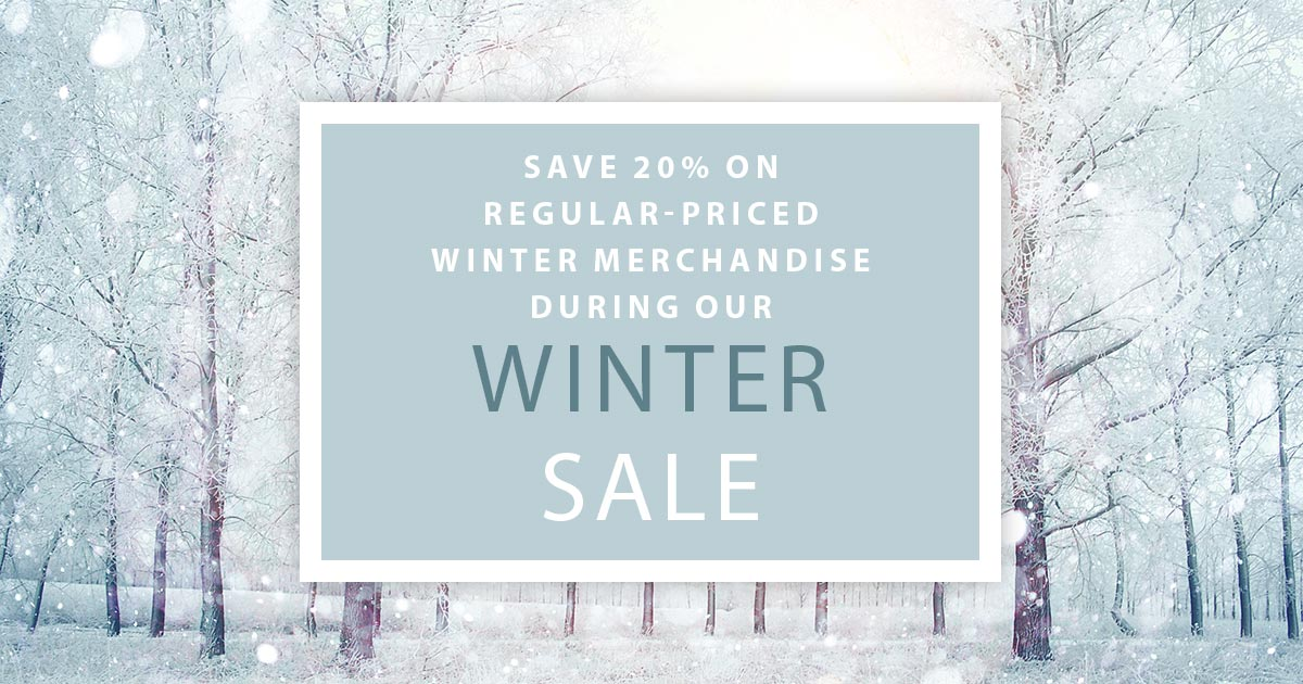 CR Designs Winter Sale