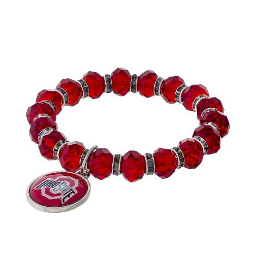Ohio State University stretch bracelet