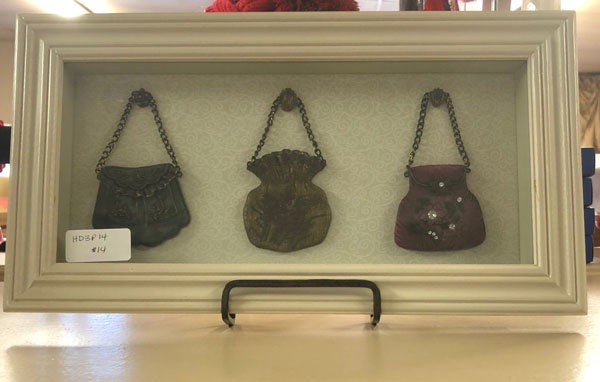 Framed 3 Purse Picture