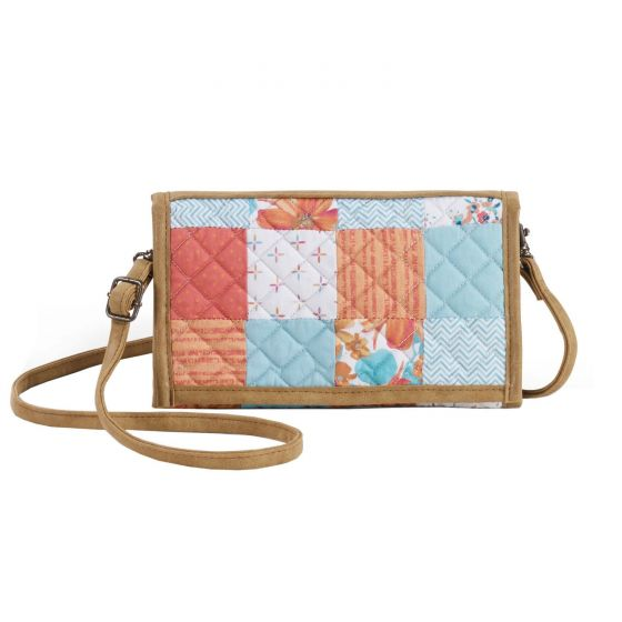 Donna Sharp Sydney Wallet/Crossbody - Papaya Patch Front