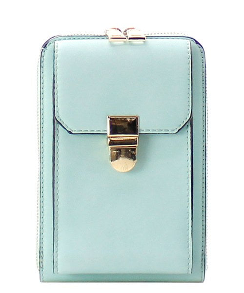 Fashion Cell Phone Holder/Crossbody Mint