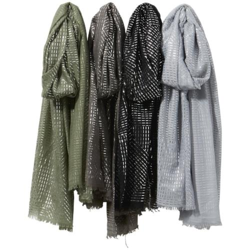 Nobo Silver Lines Scarf Assorted Colors