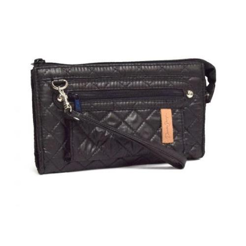 Donna Sharp Deidre Wallet - Ebony Grid