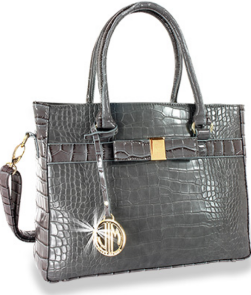 Alligator Embossed Hand Tote