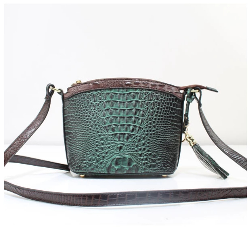 Small Crossbody/Shoulder Bag Dark Green