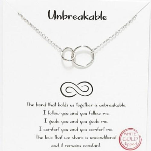 """Unbreakable"" Necklace Silver"