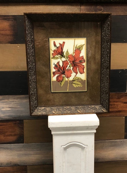 Framed Orchid Picture