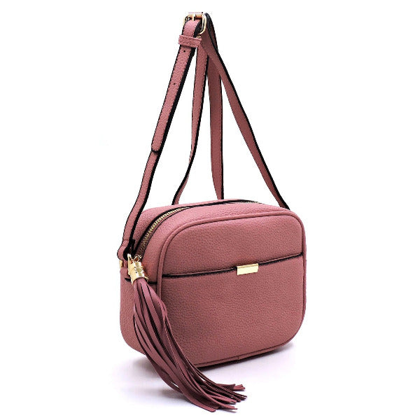 Square Tassel Crossbody