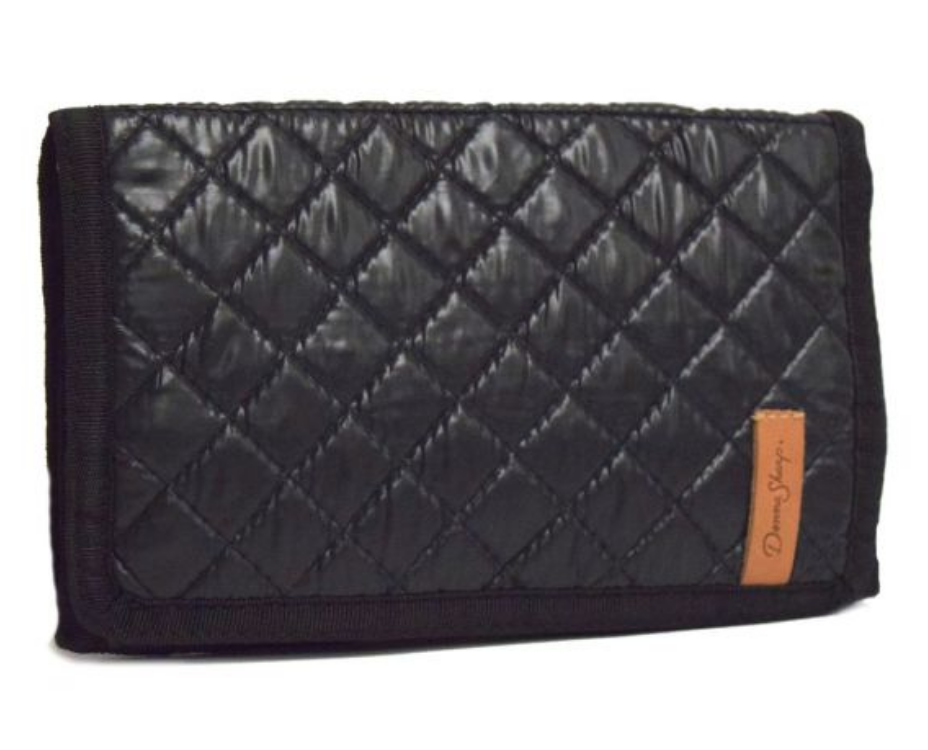 Donna Sharp Large Wallet - Ebony Grid