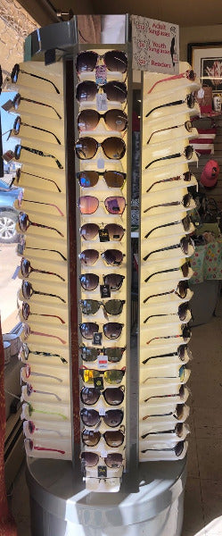 Sunglasses/Readers/Glasses Lighted/Rotating Display