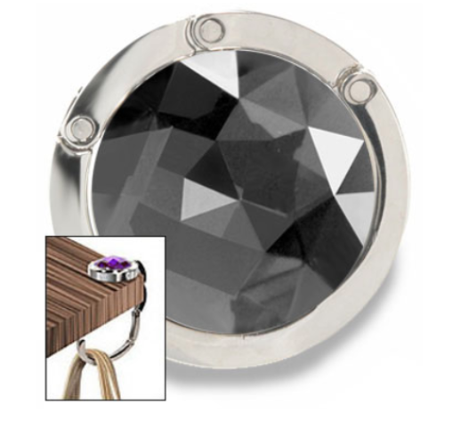 Gem Design Purse Hanger
