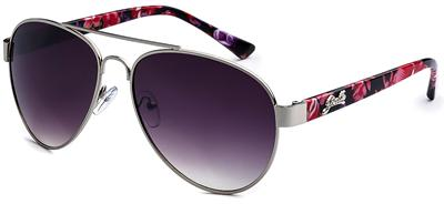 Colorful Floral Aviator Sunglasses