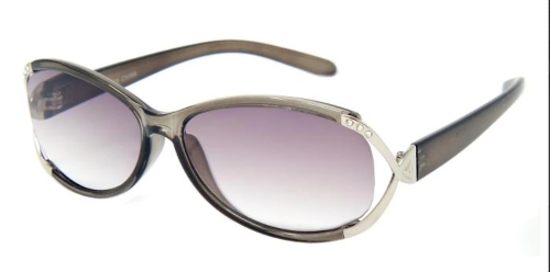 Ladies' Fashion Sun Readers Grey