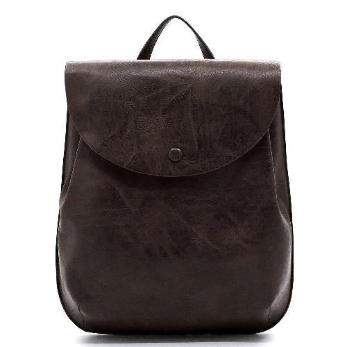 Flapover Convertible Backpack Coffee