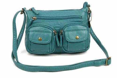 The Bethany Crossbody Teal