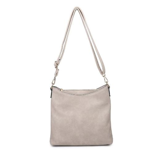 Three Compartment Crossbody Linen