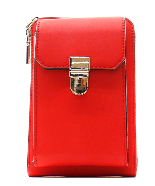 Fashion Cell Phone Holder/Crossbody Coral