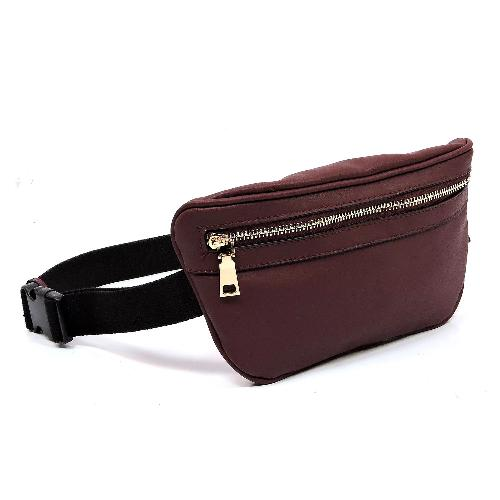 Fashion Fanny Pack Burgundy
