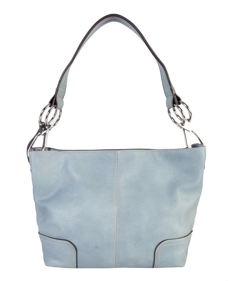 Monogrammable Hobo Handbag
