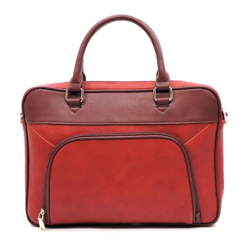 Briefcase Laptop Case Red