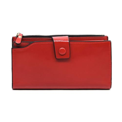 Fashion Cell Phone Wallet Red