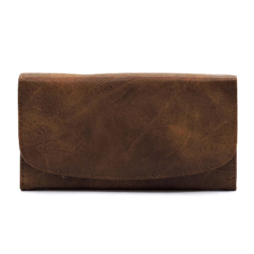 Envelope Wallet Brown
