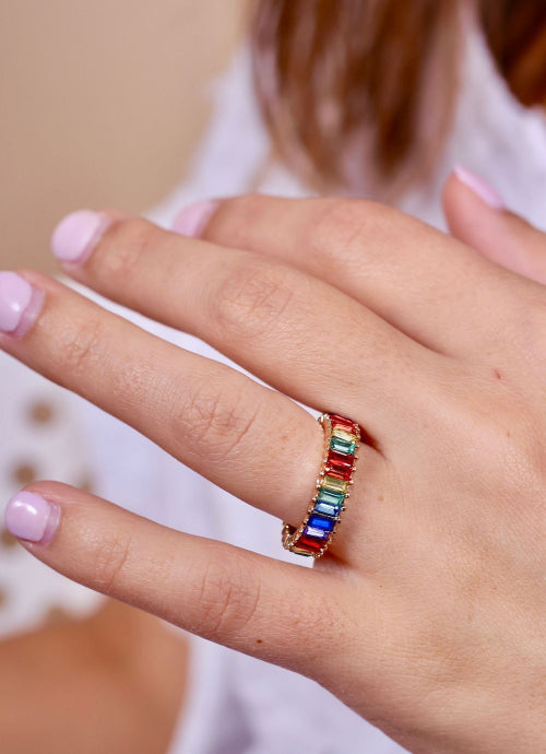 Over the Rainbow Ring Multi