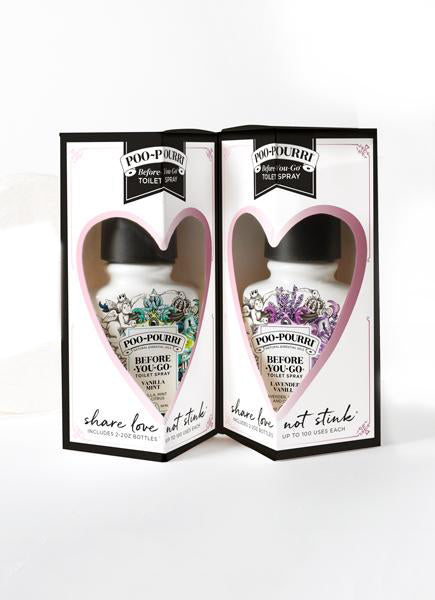 Share Love Not Stink Gift Set Includes Lavender Vanilla and Vanilla Mint