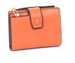 Front Snap Small Wallet Orange
