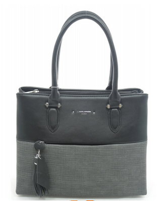 David Jones Satchel/Tote Black