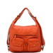 Convertible Crossbody/Backpack Orange
