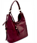 Side Pocket Accent Hobo Bag Side