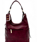 Side Pocket Accent Hobo Bag Back