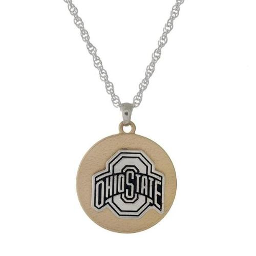 OSU Two Tone Necklace