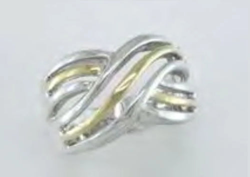 Two-Tone Twist Band