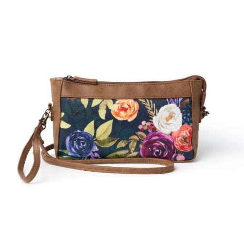 Donna Sharp Olivia Wristlet/Crossbody - Wildberry