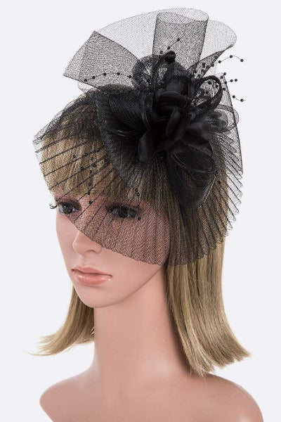 Oversize Convertible Fascinator Headband Set